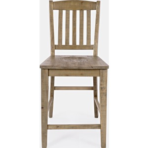 Carlyle Crossing Slatback Stool