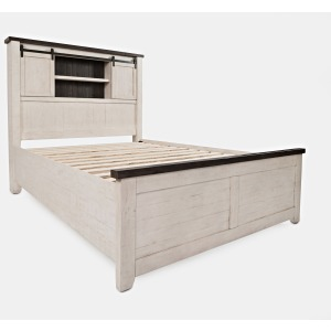Madison County King Barn Door Bed