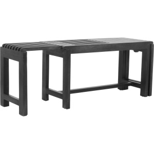 Global Archive Bradford Extendable Bench - Grey