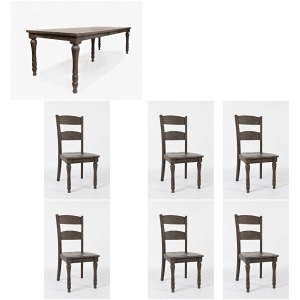 Madison County 7 PC Dining Set