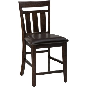 Kona Grove Upholstered Slat Back Stool