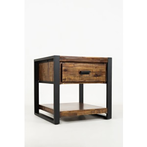 Loftworks End Table with Drawer
