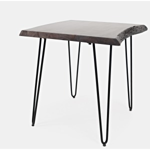 Nature's Edge End Table - Brushed Grey