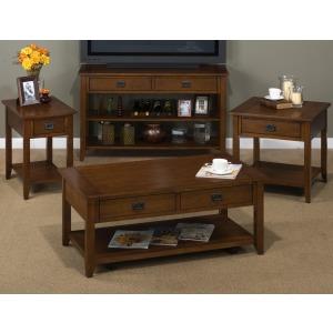 4PC Mission Oak Table Set