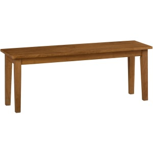 Simplicity Wooden Dining Room Table Bench