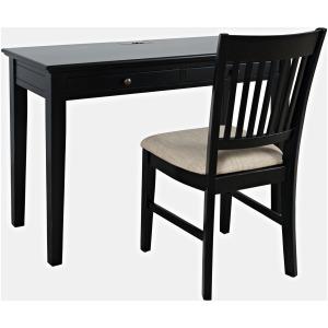 Craftsman Power Desk & Chair - Antique Black
