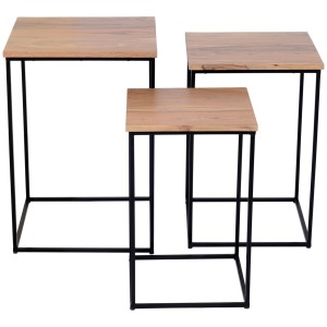 Global Archive Brody Nesting Tables - 3 Piece Set