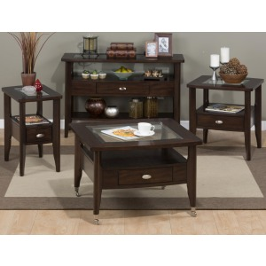 Montego Merlot Occasional Table Group