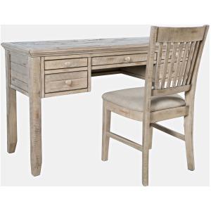 Rustic Shores Power Desk & Chair - Vintage Grey