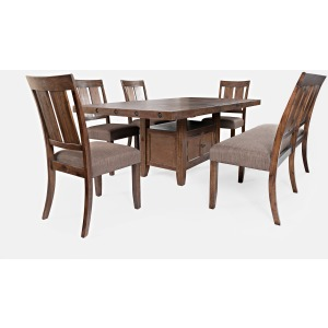 Mission Viejo Table and Chair Set with Bench