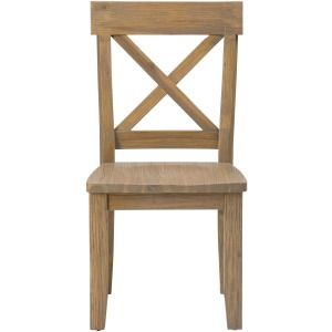 Boulder Ridge X Back Side Chair