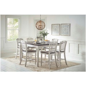 Orchard Park Counter Height Dining Table & 8 Chairs