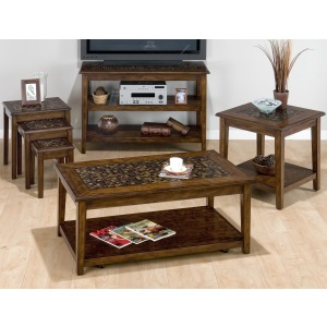 Baroque Brown Occasional Table Group