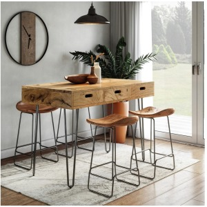 Rollins 5 PC Counter Height Dining Set