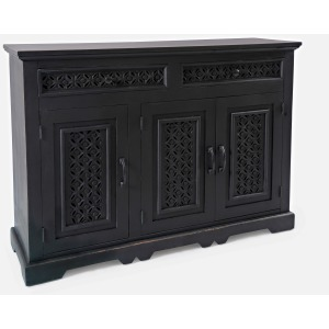 "Global Archive Decker 48"" Console - Antique Black"