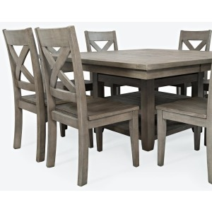 Outer Banks 5 PC Hi/Low Storage Dining Table with 4 Stools