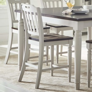 Orchard Park Slatback Counter Height Stool