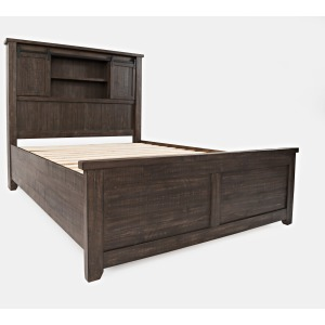 Madison County Queen Barn Door Bed