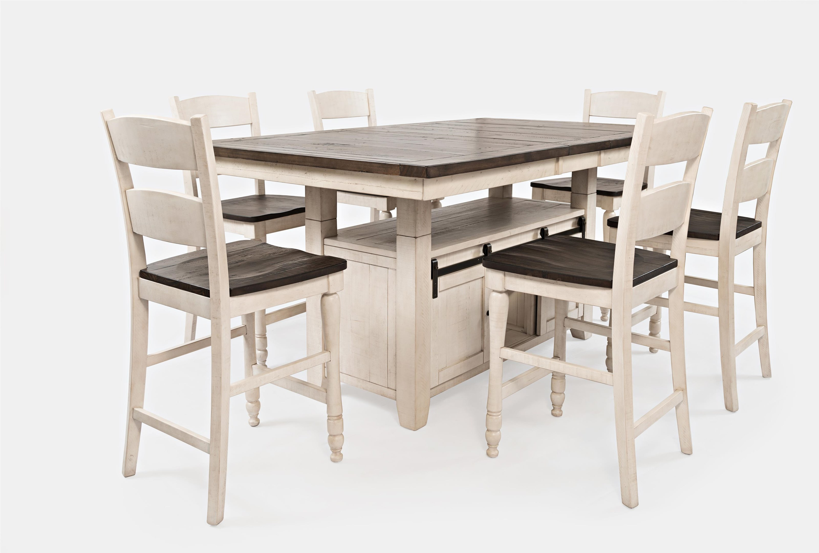 Madison County 9PC High/Low Dining Set by Jofran   NIS9 ...