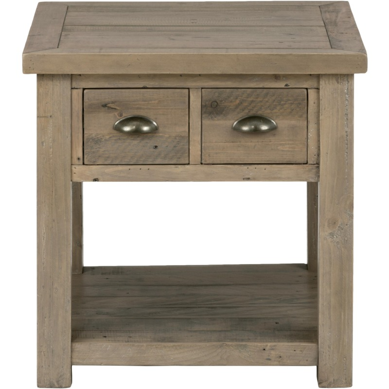 Remarkable Slater Mill Pine End Table Made Of Reclaimed Pine Squirreltailoven Fun Painted Chair Ideas Images Squirreltailovenorg