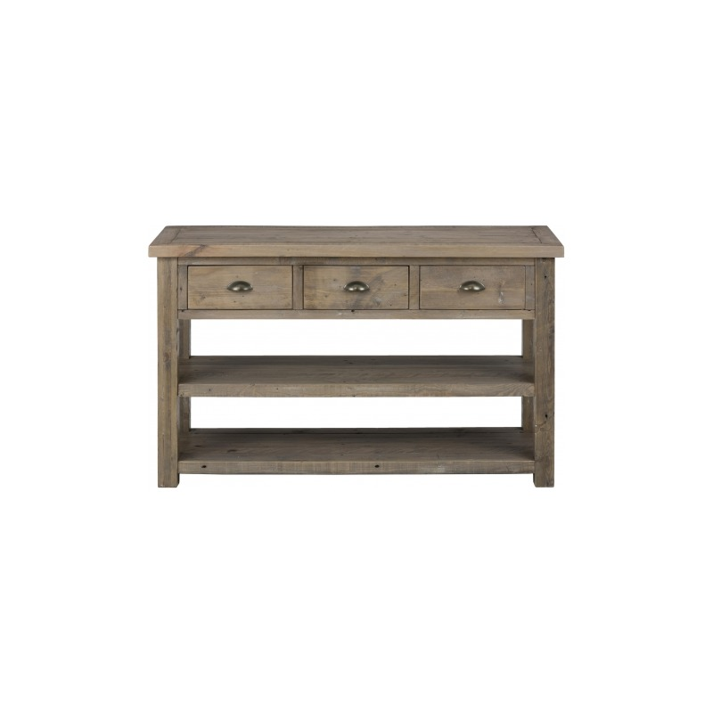 Slater Mill Pine Sofa Table Made Of Reclaimed