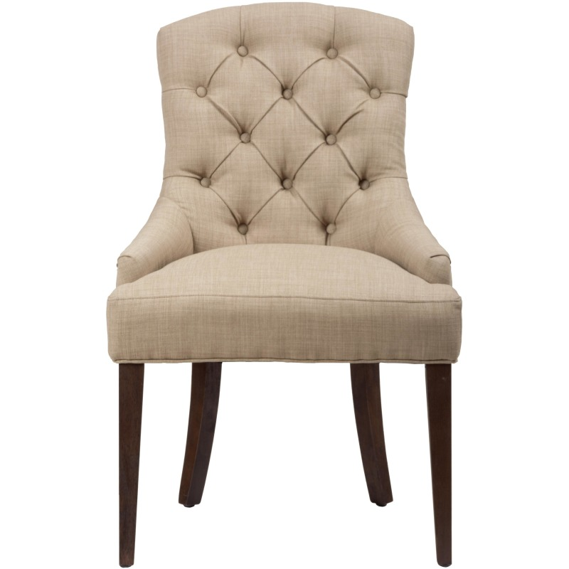 Geneva Hills Upholstered Side Chair with Tufted Back