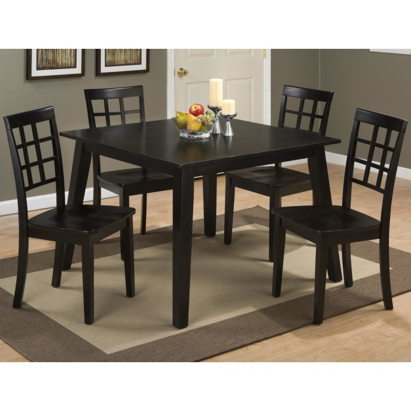 Simplicity Grid Back Side Chair for Table Set