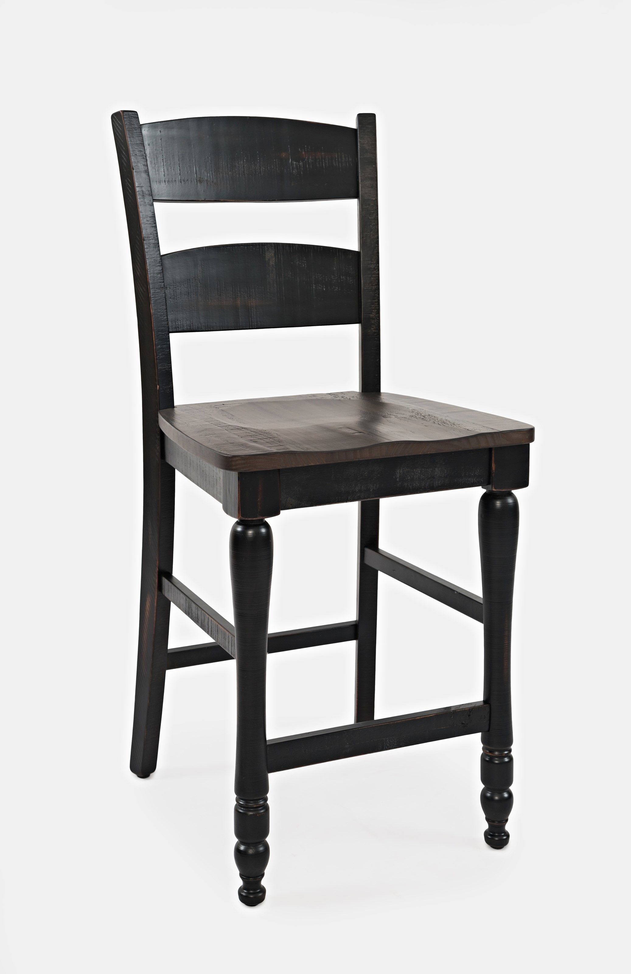 Madison County Ladderback Counter Stool by Jofran   9   Old ...