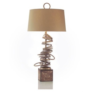 Stacked Table Lamp