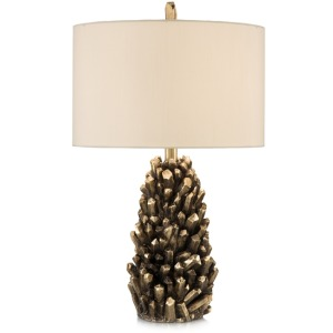 "25.5"" Golden Crystals Accent Lamp"