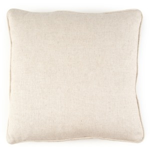 "20"" X 20"" Pillow Solids Creme"