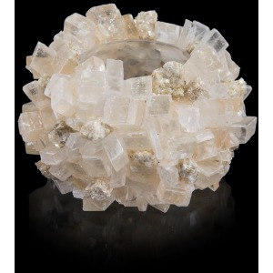 Calcite with Mica Bowl