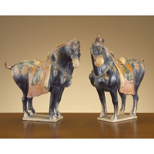 18X18X8 S/2 Ancient Chinese Tang Horses
