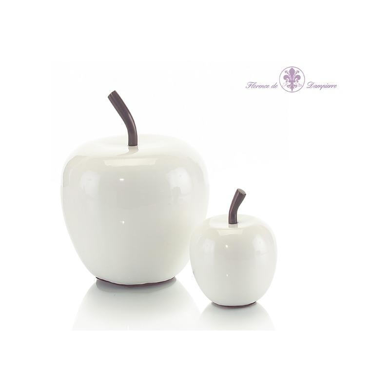 Set Of 2 White Apples
