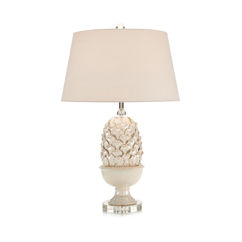 "30.5"" Pearlized Artichoke Table Lamp"