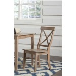 X-Back Chair - Taupe Gray