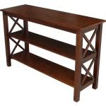 Hampton Sofa Table in Espresso