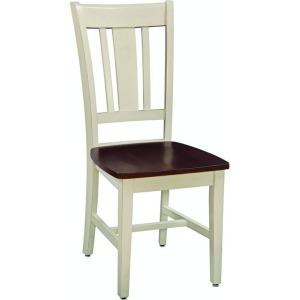 San Remo Chair - Almond & Espresso