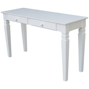 Java Table in Pure White