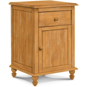 Cottage 1 Drawer Nightstand w/ 1 Door