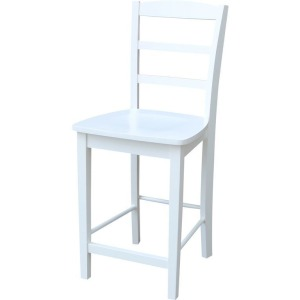 Madrid Stool in Pure White