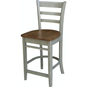Emily Stool in Hickory Stone