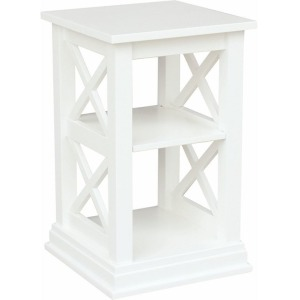 Hampton Accent Table in Pure White