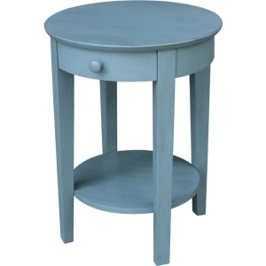 Phillips Table in Ocean Blue