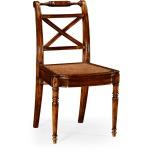 Regency Cross Frame Back Chair Side