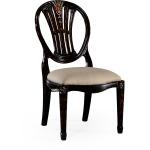 Hepplewhite Wheatsheaf Side Chair Black