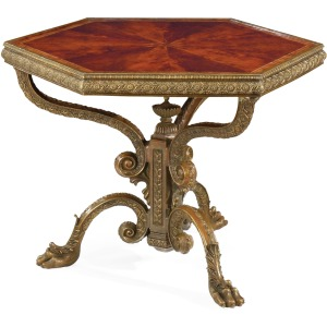 Baroque Brass Centre Table