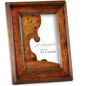 Country Walnut Picture Frame 5\