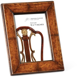 Brown Leather Picture Frame 5\