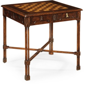 Chippendale Gothic Games Table Small